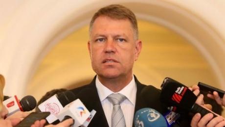 Klaus Iohannis şi-a amintit abia la Cotroceni ce trebuia să spună în Parlament